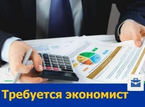 Экономист для работы на дому требуется ростовской фирме