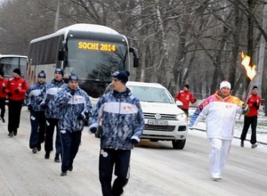 В Ростове стартовала эстафета Олимпийского огня