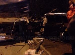 Ростовчанка на «Ауди» разбилась во время гонок с мужем по Таганрогской