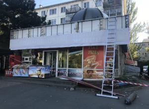 Масштабный снос магазинов начали в Северном микрорайоне Ростова