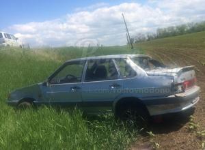 Опрокидывание собственного авто пьяный водитель отметил на месте ДТП в Ростовской области