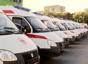 Автопарк машин скорой помощи обновлен в Ростовской области