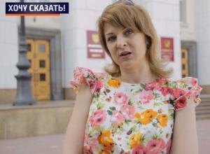 В немых пикетах мы стоим под окнами ростовских чиновников, чтобы на нас обратили внимание, - Ольга Гирько