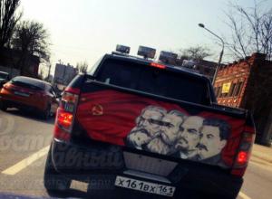 Хозяина «страшно-патриотичного» джипа иронично высмеяли жители Ростова
