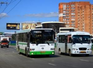 Бегуны и ценители славянской письменности выгонят общественный транспорт из центра Ростова