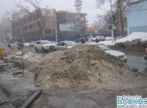 Читатель «Блокнота»: дороги в Ростове до сих пор не почищены