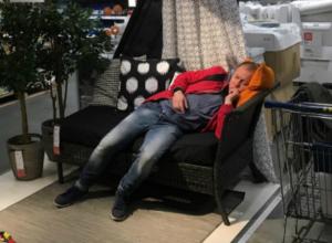 Мужчину, которому можно позавидовать, обнаружил ростовчанин в магазине «IKEA»