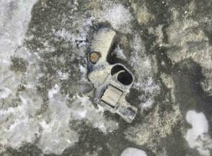 Эхо войны: гранату и револьвер нашли на дне обмелевшего Дона в Ростове