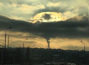 Образовавшимся над городом закатным «ядерным грибком» залюбовались жители Ростова