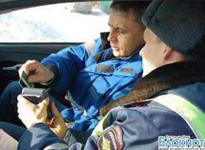 В Ростовской области водители смогут оплачивать штрафы банковской картой в патрульной машине