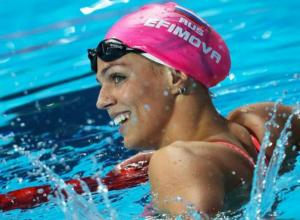 Ростовская пловчиха помогла России впервые в истории выиграть  серебро в комбинированной эстафете на чемпионате мира
