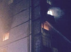 В Ростове на Штахановского сгорела квартира в 9-этажке: погибли два человека