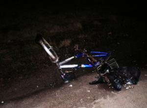 Опасные виражи на сколькой дороге занесли пьяного велосипедиста под колеса ВАЗа под Ростовом