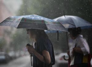 Ливневые дожди и грозы вынудят провести воскресный выходной дома жителей Ростова