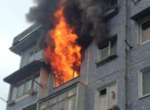 Женщина отчаянно боролась за жизнь при пожаре в ростовской пятиэтажке