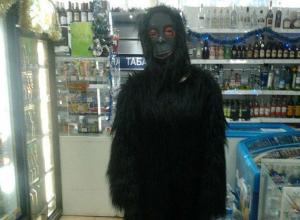 В ростовском магазине покупательницу удивила обезьяна