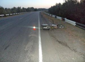 В Ростовской области мотоциклист разбился, врезавшись в отбойник
