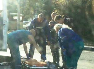 Пытавшийся перебежать дорогу «где не надо» мужчина попал под колеса маршрутки в Ростове