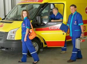 Ростовских пациентов будут возить на новых машинах скорой помощи