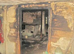 В Ростовской области пожарные спасли троих маленьких детей из горящего дома