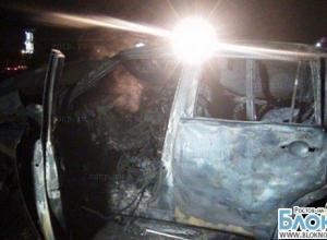 В Волгодонске на автостоянке сгорели три иномарки