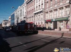 В центре Ростова из-за подозрительной сумки эвакуировано кафе