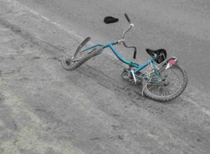 Смелый школьник на велосипеде взял на таран иномарку в Ростовской области