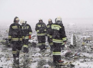 Крушение «Боинга» в Ростове: скорбит вся страна