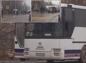 Полицейские подтвердили сообщение о взрывчатке в автобусе Ростов - Донецк и эвакуации пассажиров