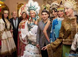 Ростовский олимпиец Вартерес Самургашев выбирает «Миссис Россия International 2012»