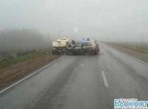 В Ростовской области в ДТП с инкассаторской машиной 1 погиб, 4 пострадали