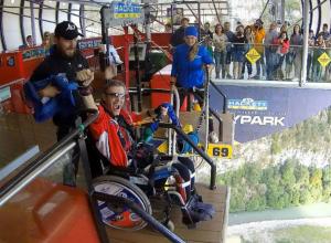 За «географический Оскар» борется изобретатель подводной инвалидной коляски из Ростова