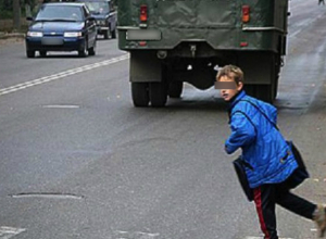 Пытавшегося перебежать дорогу ребенка отправила в реанимацию автоледи под Ростовом
