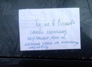 «Быдлопарковщика» из Ростова стёбно проучили в Москве: «если не можешь, ехай»