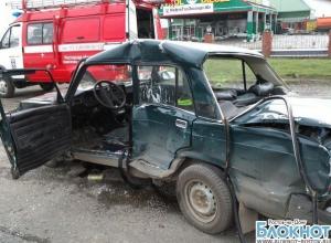 Под Ростовом автопоезд протаранил «ВАЗ-2107»