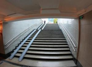 Ко Дню города в Ростове планируется завершить работы в подземном переходе на проспекте Нагибина