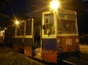 Бесстрашные пассажиры доехали до конечной во вспыхнувшем огнем трамвае в Ростовской области
