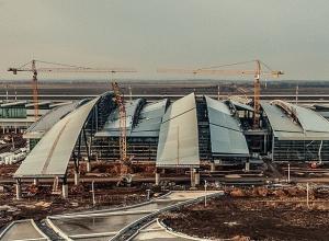 Грандиозную авторазвязку к аэропорту «Платов» на трассе «Дон» откроют в июне