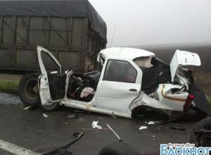 В ДТП в Ростовской области погибли пассажир и водитель такси