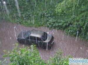 В Ростовской области ожидаются ливни с градом и шквалистый ветер
