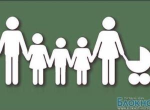 В Ростовской области многодетные семьи за третьего ребенка будут получать 6535 рублей ежемесячно
