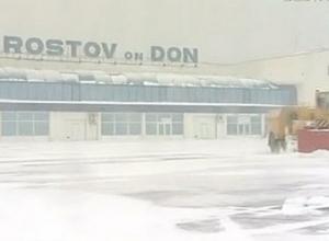 Из-за снегопада аэропорт Ростова работает по фактической погоде