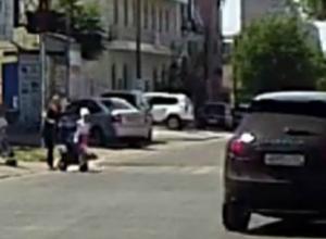 Лихача на «Порше» оштрафовали после публикации «Блокнота»
