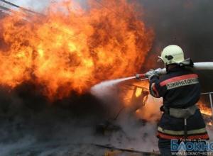 В Ростовской области сгорел коровник