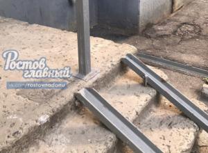 «Пандус смерти» установили отчаявшимся инвалидам и детям в Ростове-на-Дону