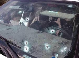 Под Ростовом расстреляли припаркованную машину