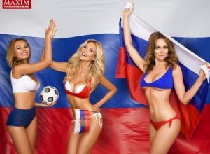 Ростовчанка Виктория Лопырева разделась для откровенной фотосессии в поддержку сборной России по футболу