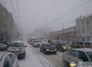 В Ростове-на-Дону во время зимней ЧС город будет «останавливаться»