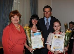 Мэр Ростова вручил стипендии одаренным учащимся детских школ искусств