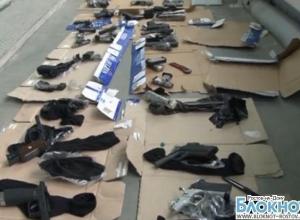 В Ростовской области перекрыли канал контрабанды оружия из Евросоюза через Украину